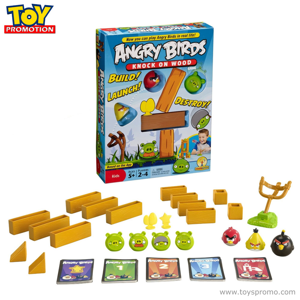 Angry Birds Knock On Wood Game - YouTube